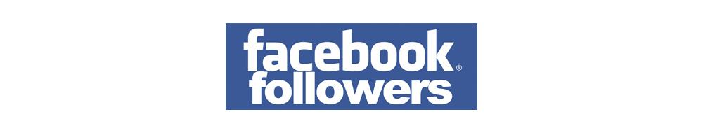 Facebook followers logo