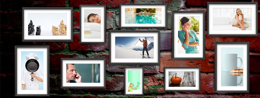 Image of Collage Frames for Facebook Cover Photo
